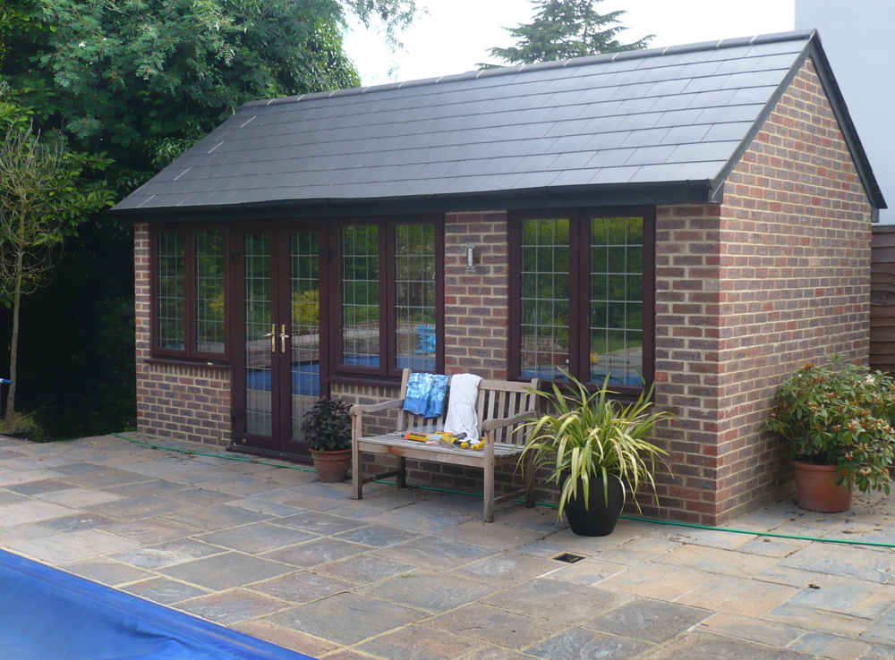 Bespoke Pool Houses With Shower And Wc Custom Built 2