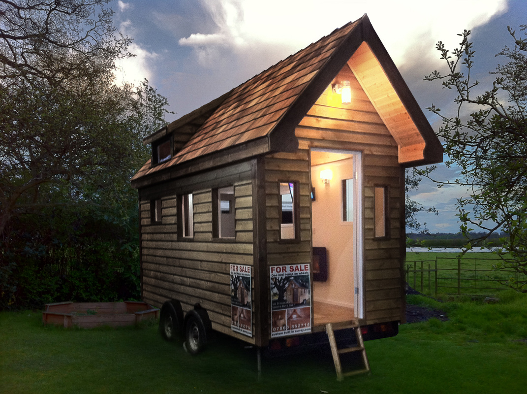 Tiny house 39 s on wheels for sale in the uk custom built 2 for Small house plans for sale